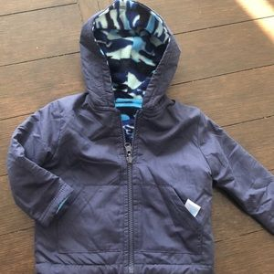 Other - Reversible blue camo jacket